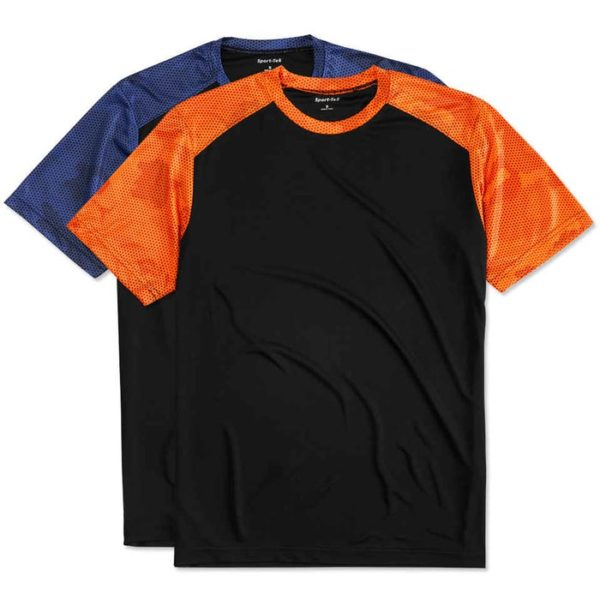 Performance Color block t- shirt